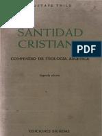 Thils Gustave - Santidad Cristiana - Compendio de Teologia Ascetica