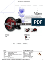 Hollow Bodies Artcore - AFS75T _ Ibanez Guitars