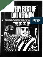 The Very Best of Dai Vernon - Richard Vollmer