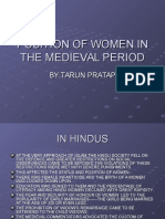 16.Changes in the Position of Women in the Medieval Period