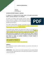 Derecho Empresarial Clases Totales