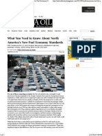What You Need to Know About North America's New Fuel Economy Standards - Alberta Oil MagazineAlberta Oil Magazine