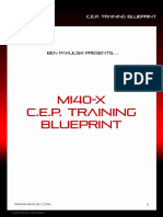 BPak's MI40-X_ CEP Training Blueprint