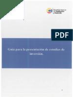 Guías Metodológicas de Estudios Programas o Proyectos