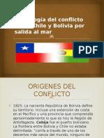 Cronología Del Conflicto Entre Chile y Bolivia Por