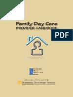 Family Daycare Provider Handbook