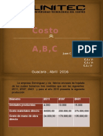 Diapositivas de Costo ABC