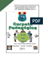 Carpeta Pedagógica Doris