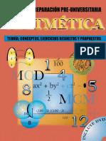 Aritmetica - Manual de Preparacion Preuniversitaria -Aavv