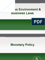 5. Economic Environment - Monetary Policy