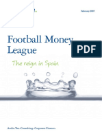 Deloitte Uk Deloitte Football Money League 2007