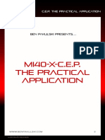 BPak's MI40-X_CEP Practical Application