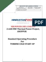 Sop 01-Turbine Cold Startup