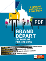 le Grand Départ du Tour de France 2016 dans la Manche - le dossier de presse
