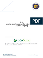 Securitate Servicii Internet Banking