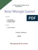 Mito Guaraní de La Creación