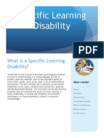 specificlearningdisabilitybrochureforparentsandteachers