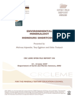 Environmental Mineralogy