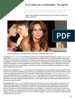 Lanacion.com.Ar-Nancy Dupláa Sobre El Video de La Rosadita Es Gente Contando Plata