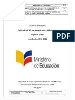 Manual Proceso Registro de Calificaciones Sierra Vf1111111-1