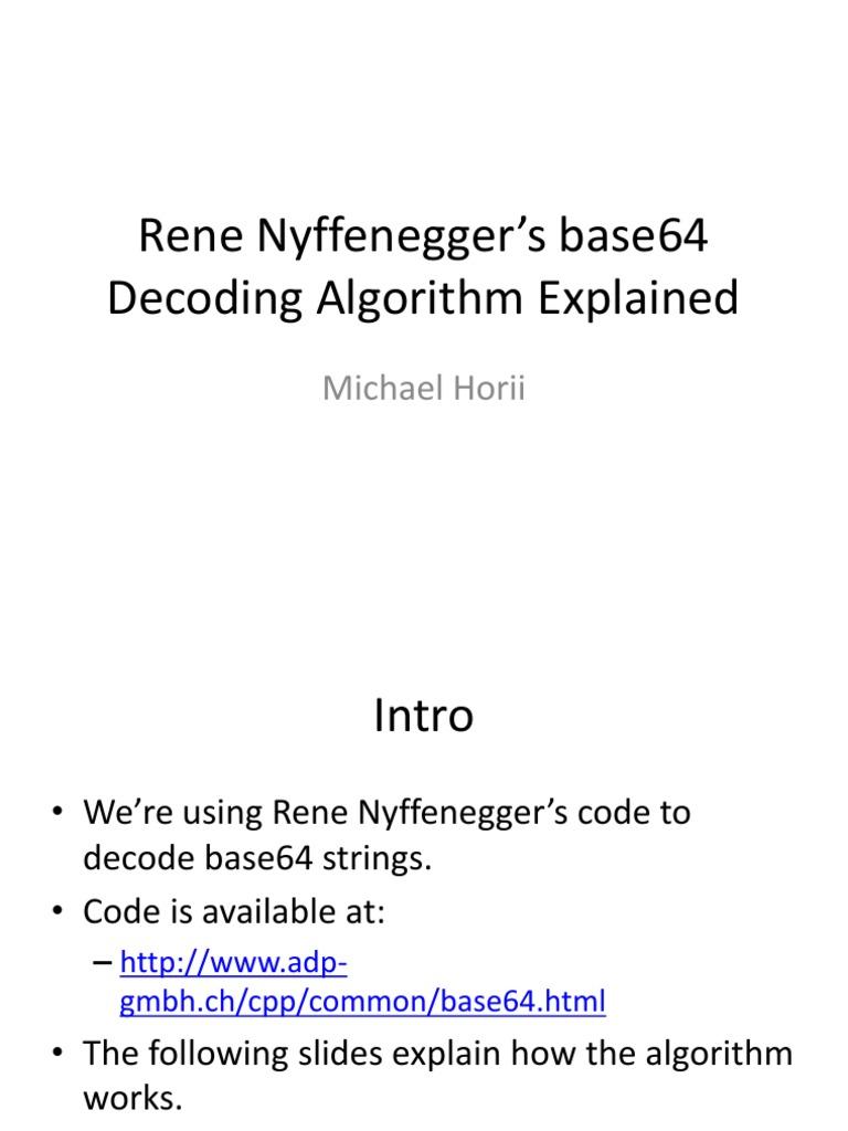 Base64 Decoding Explained | Code (47 views)