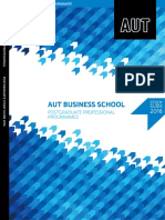 AUT - 2016 Postgraduate Professional Business