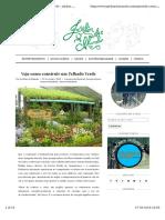 Como Construir Um Telhado Verde