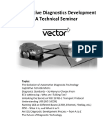 Vector Diagnostics Seminar
