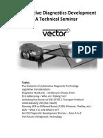 Vector Diagnostics Seminar