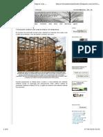 Construir Uma Casa Ecológica Com Segurança