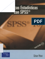Tecnica.s Estadisticas SPSS - Perez