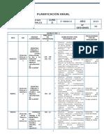Ciencias Naturales Planificacion - 3 Basico