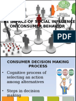 The Impact of Social Influence on Consumer Behavior FINAL