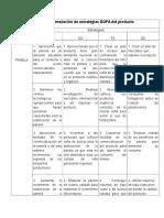 Aporte Analisis DOFA_Tabla 2_Propuesta Del Producto