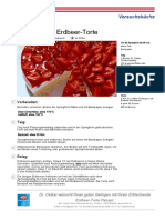 Rezept Erfrischende Erdbeer Torte Dr. Oetker