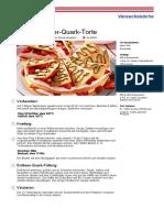 Rezept Feine Erdbeer Quark Torte Dr. Oetker