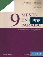 9 Meses en El Paraiso - Alfred Tomatis