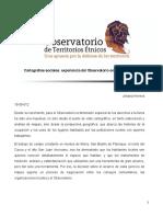 Herrera 2012 cartografía social observatorio territorios étnicos
