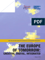 2014 UACS Conference Volume the Europe of Tomorrow - Creative, Digital, Integrated