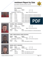 Daily Booking Sheet at the Peoria County Jail - March 27, 2016
