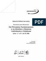 Roberto William de Godoy - ExercÃ-cios Para Memorizar - Os Principios Fundamentais e Os Direitos e Deveres Individuais e Coletivos - Ano 2010