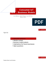 LTV Final Project- Consumer IoT Business Models