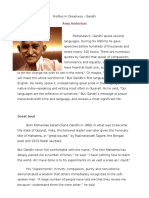 profiles in greatness--gandhi