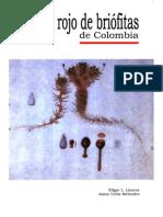 Libro Rojo de Briofitas de Colombia