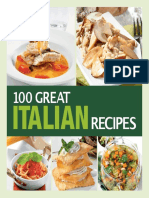 100 Great Italian Recipes Delicious Recipes