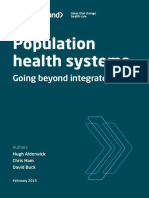 Population Health Systems Kingsfund Feb15