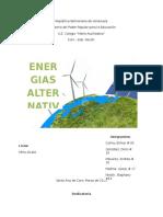 Energias alternativas y su forma de producir electricidad