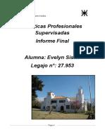 Informe Final Pasantías Ingeniería Química