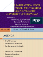 Students Satisfaction Level Towards Enrollment System Services Provided1 (1)