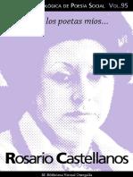 Cuaderno de Poesia Critica n 95 Rosario Castellanos (1)